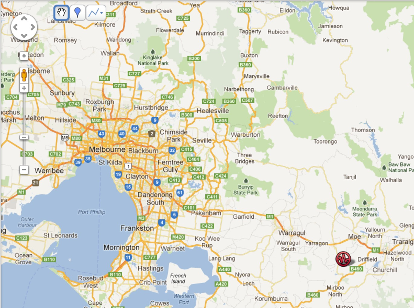 Victoria Quake Didnt Do Much Damage But Next One Might SBS News - Map of victoria australia