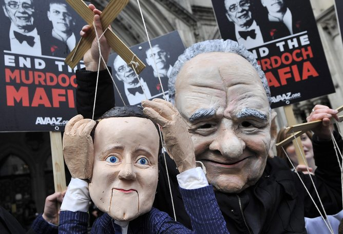 leveson puppets
