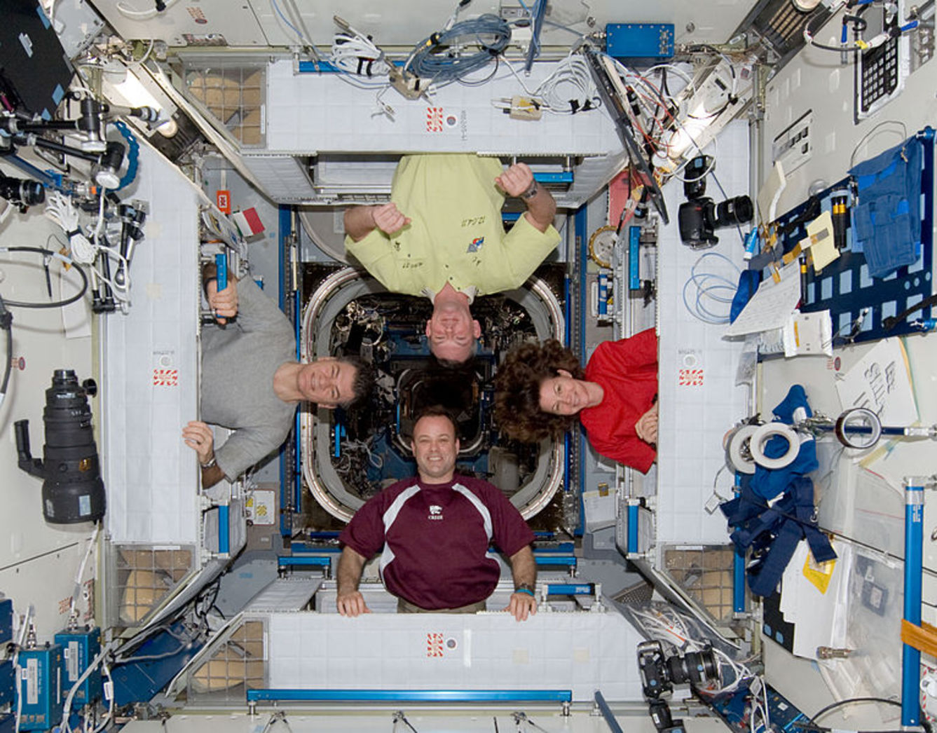 International Space Station Living Quarters - Pics about space
