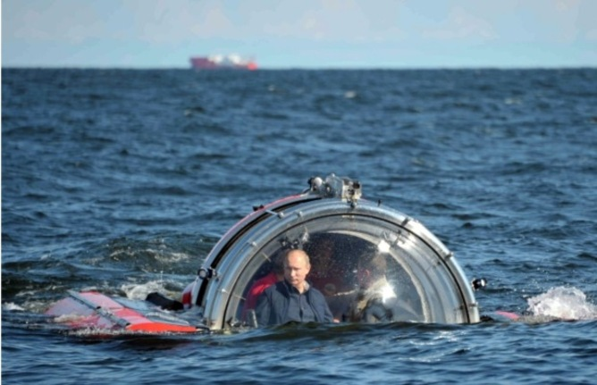 The stunts are silly, but Vladimir Putin is no tyrant