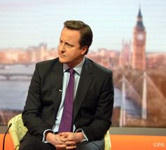 It helps to be PM to get on the beeb, particularly if you're a Tory. Jeff Overs/BBC/PA
