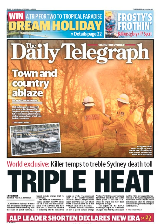 is the abbott government fiddling whilst nsw burns