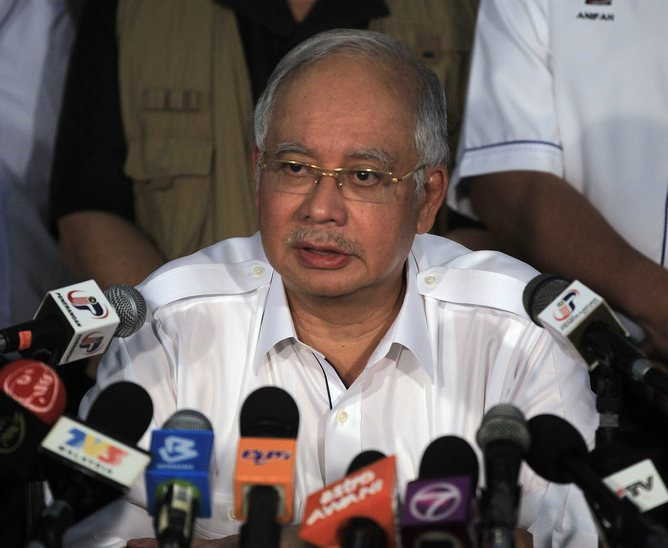 A strictly-controlled media have played a key role in the Najib Razak-led National Front's continued domination of Malaysian politics. EPA/Ahmad Yusni