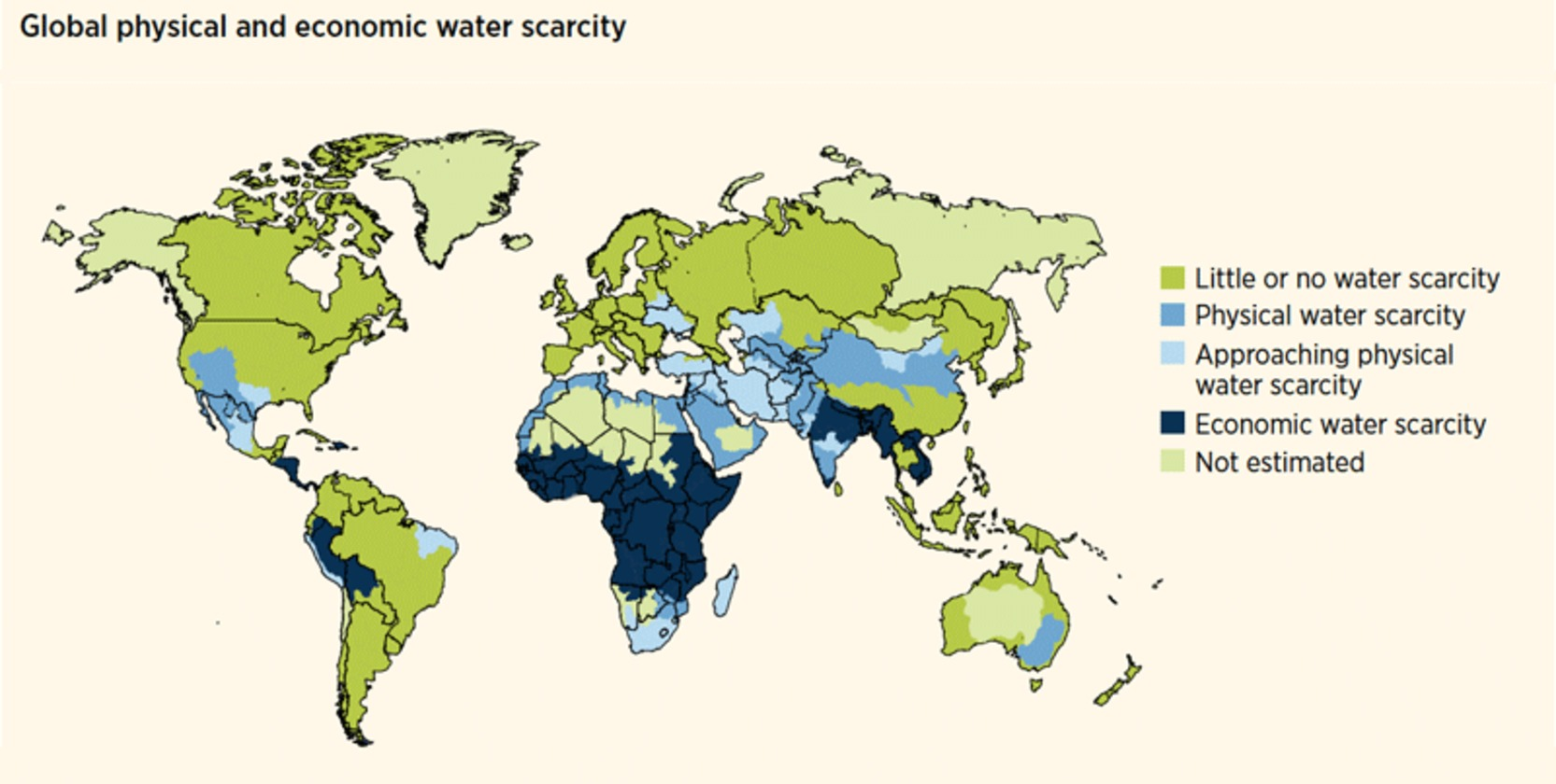 Water Supply Will Struggle to Meet Demands of Thirstier World