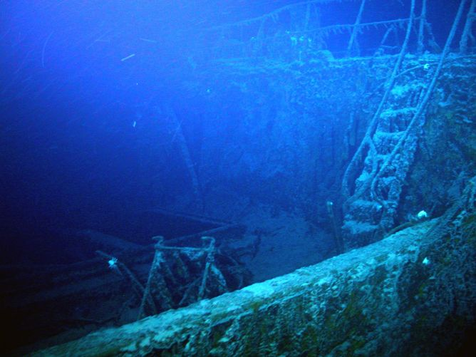 A research on the examination and exploration of sunken vessels