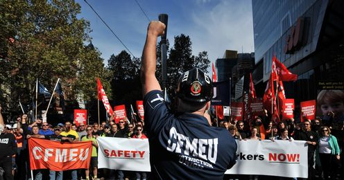Bikies, unions ... and the ABCC? Spinning the policing of work