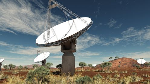 Askap_sun_up_antennas